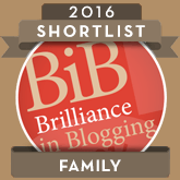BiB Award badge