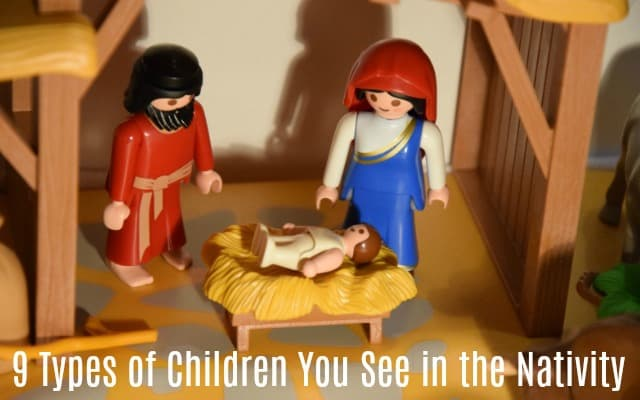 children you see in the nativity parents of the nativity nativity scene using play mobil figures.
