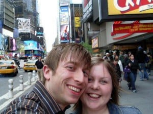New York Holiday  (fresh faces give away the fact this was before kids!)