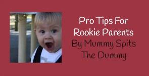 Mummy spits the dummy