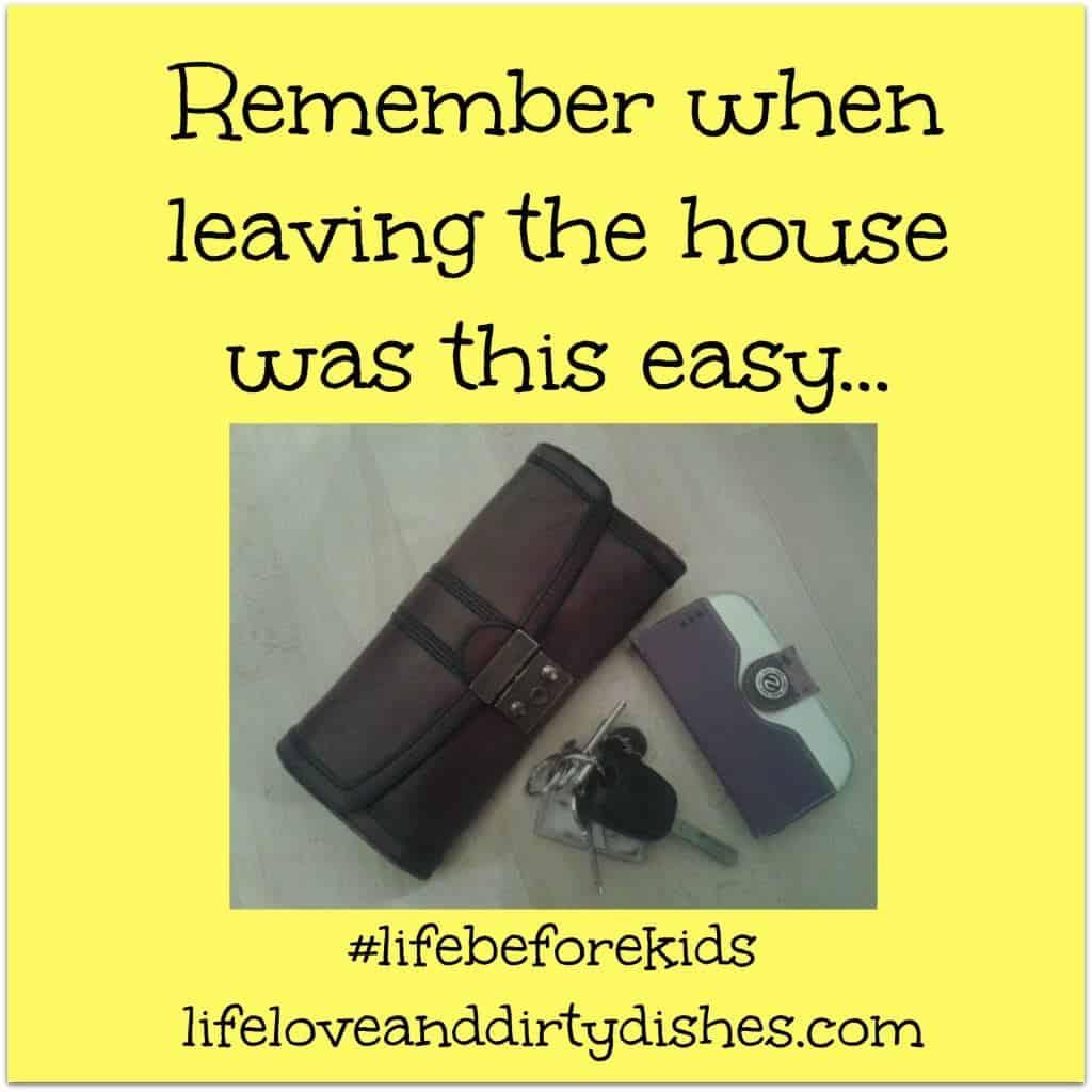 Life before kids - keys