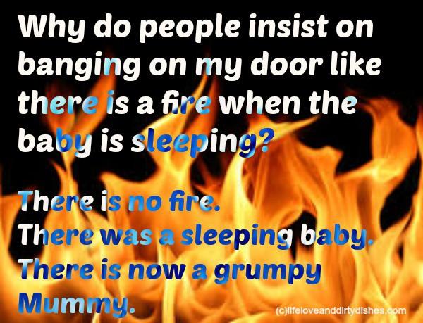 Parenting Meme - Fire