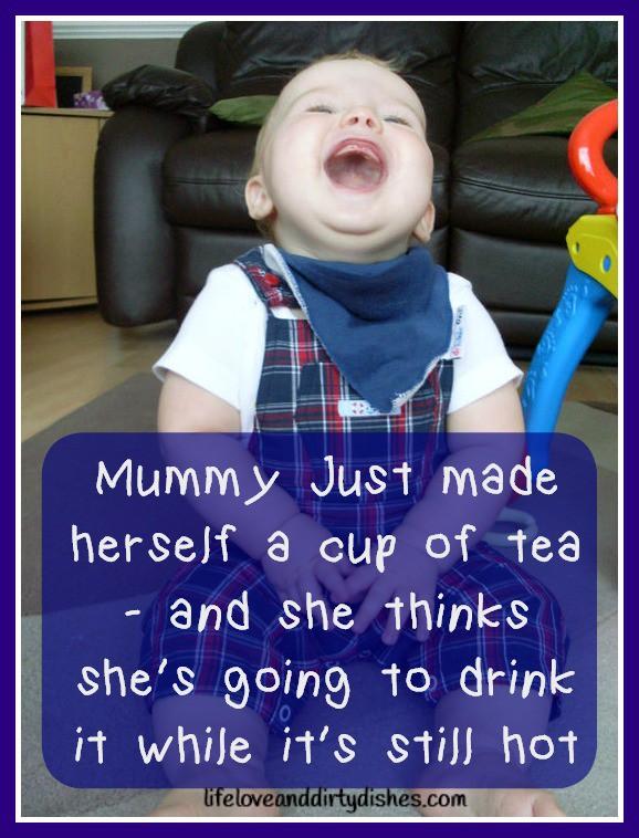 Parenting Meme -Hot Tea