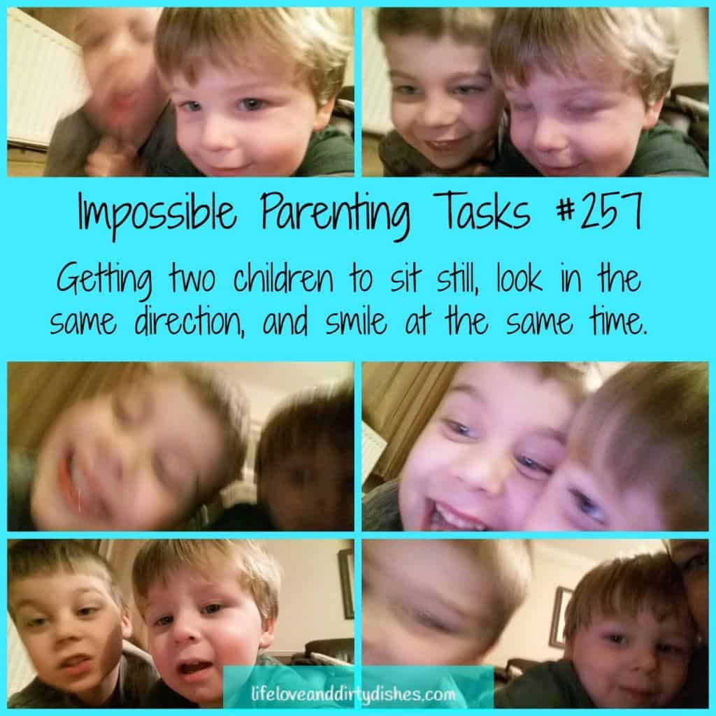 Parenting Meme -Impossible Parenting Tasks
