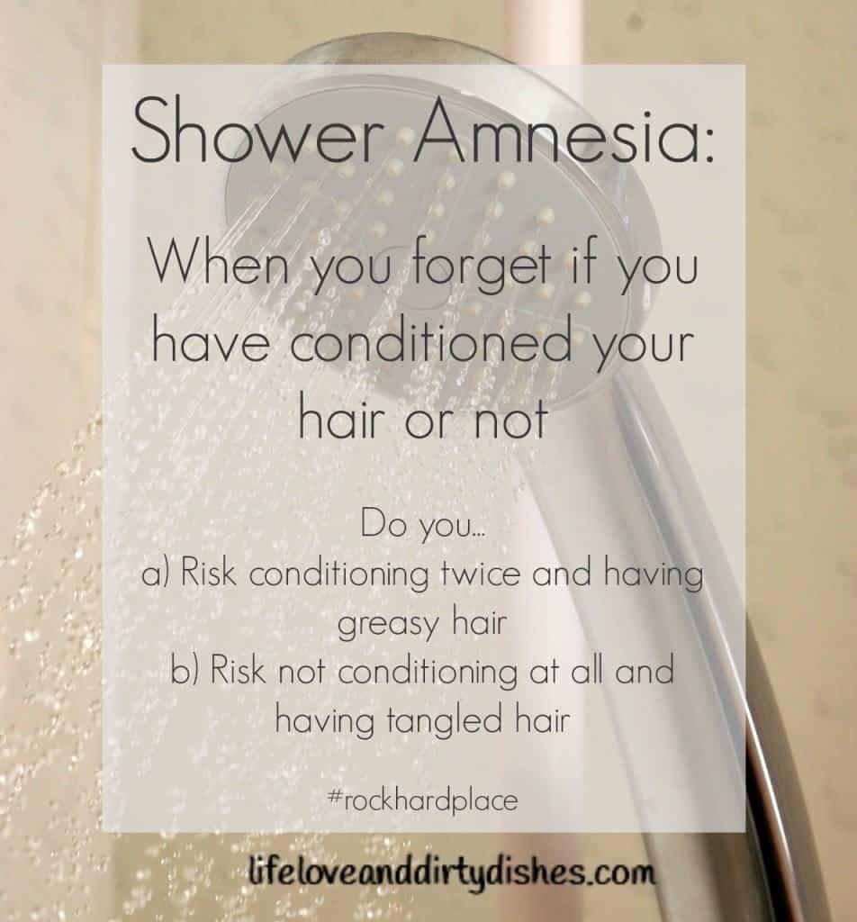 Parenting Meme -Shower Amnesia