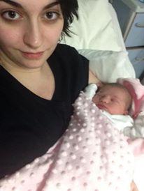 first night as a mum