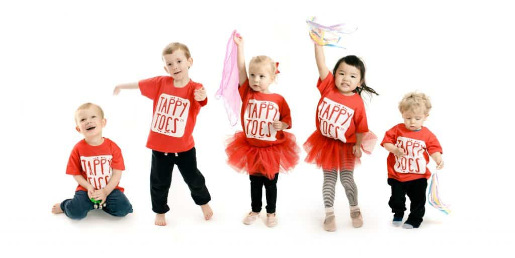 Tappy Toes Toddler Class