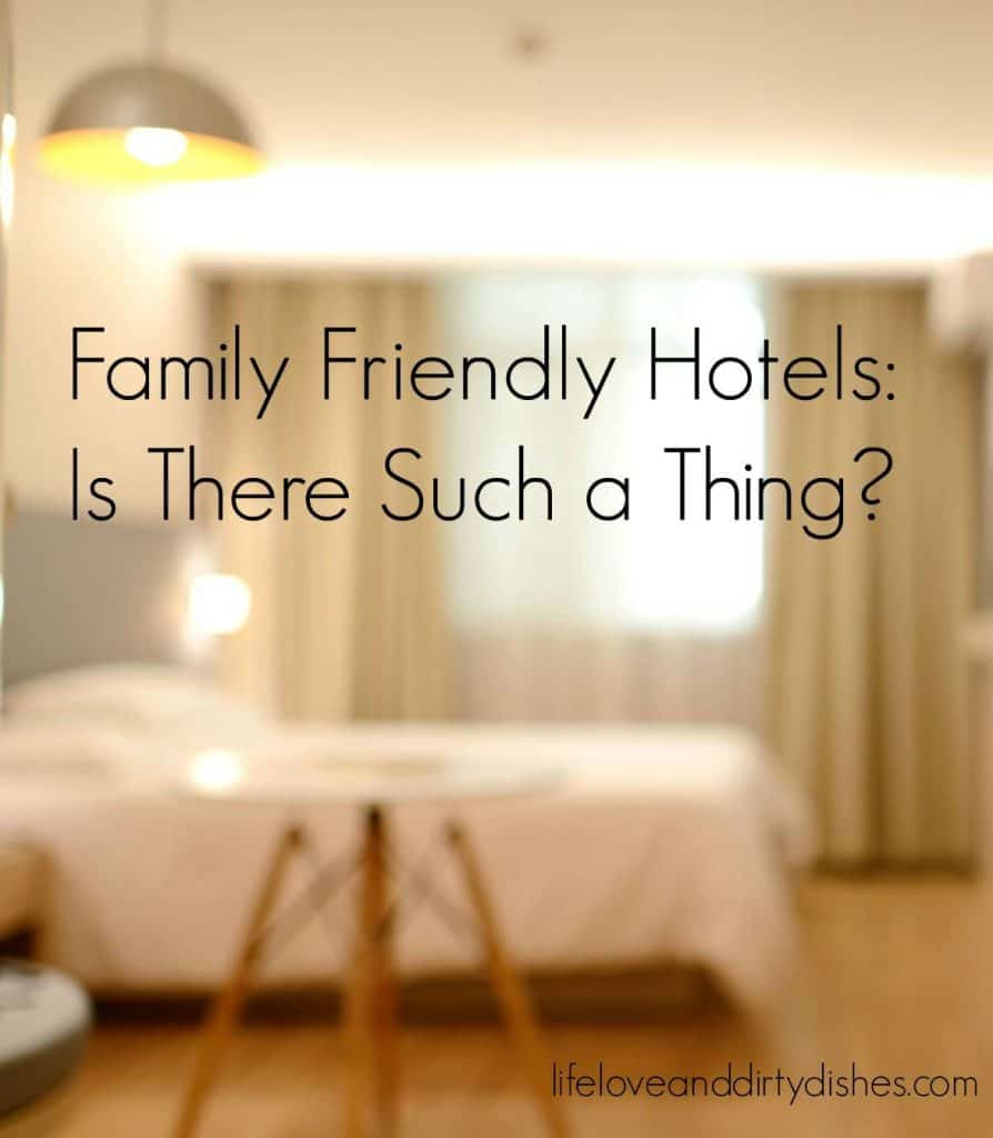 Family Friendly Hotel Rooms