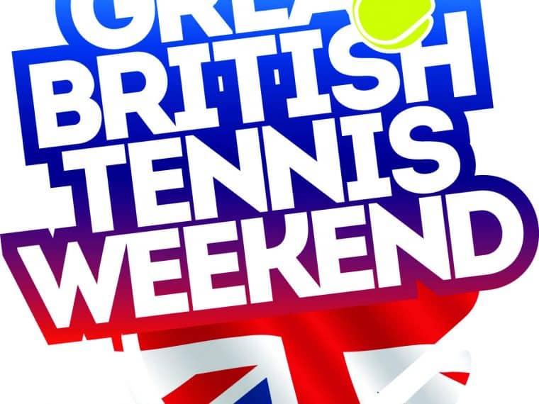 Great British tennis weekend logo