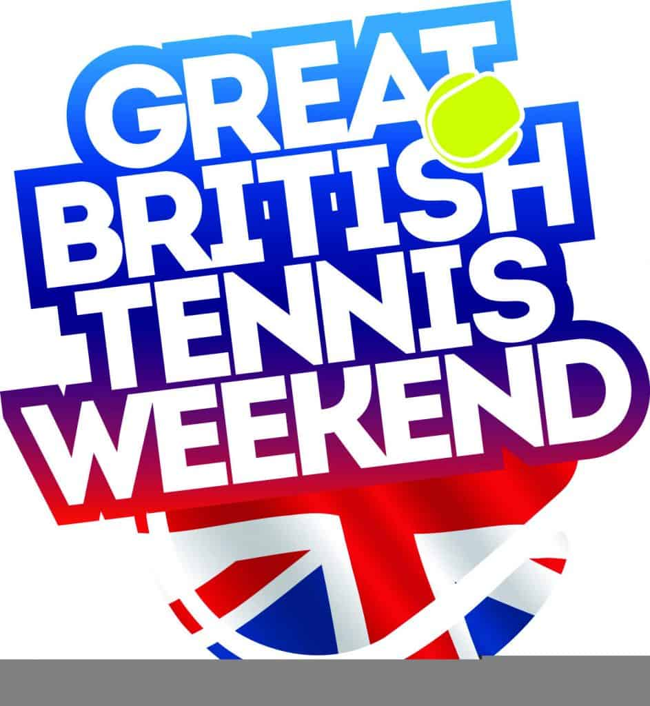 Great British tennis weekend logo