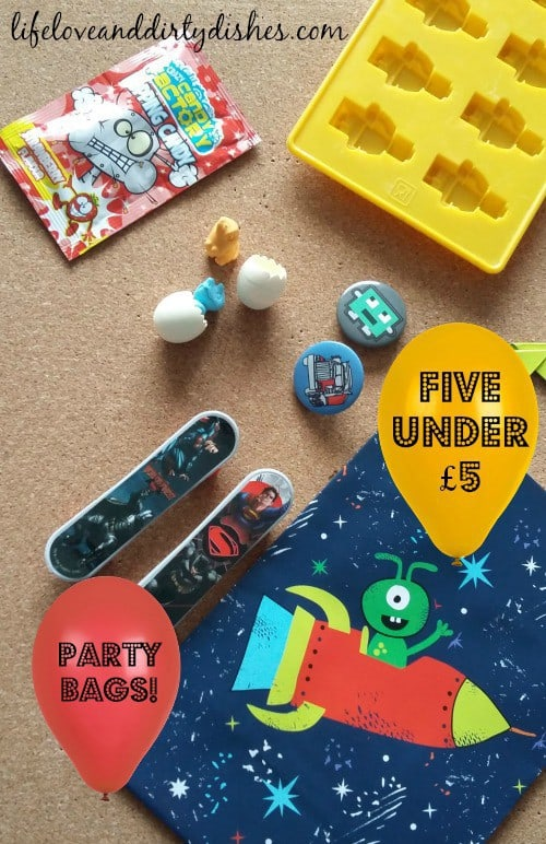 5 Under £5 Party Bags Pintrest