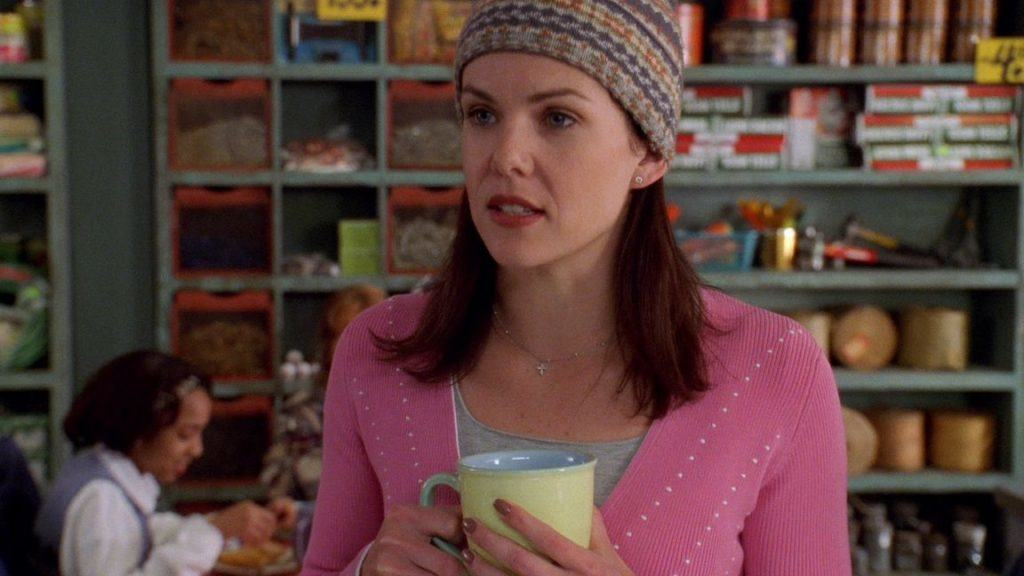 Screen shot of Loarelli from Gilmore Girls
