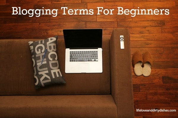 blogging terms for beginners