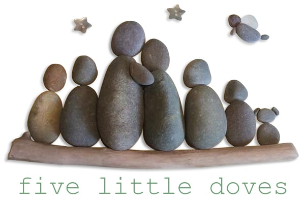 Five Little Doves logo