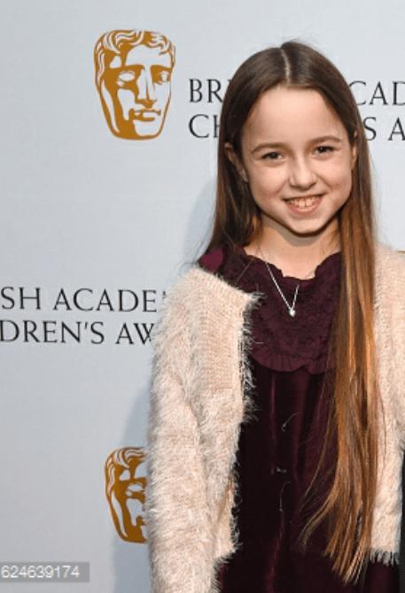 Topsy aka Jocelyn macnab at the BAFTA's