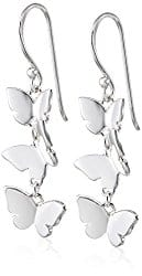 Mothers Day Gifts for Under £30 butterfly earrings