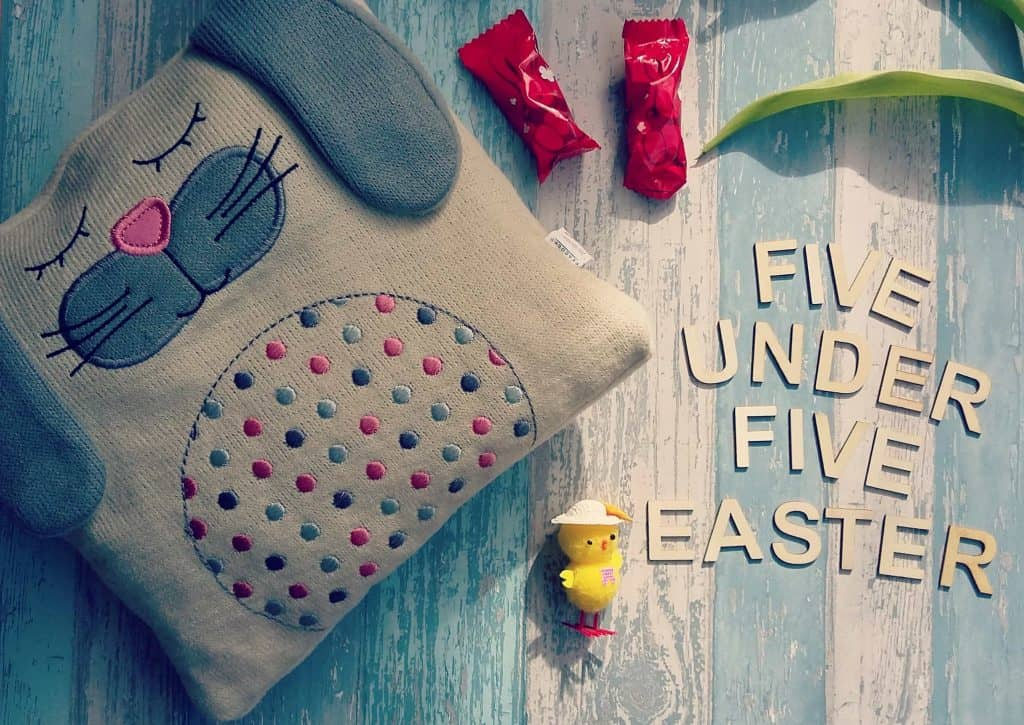 Five under £5 Easter bunny pillow
