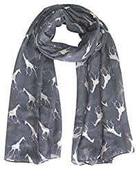Mothers Day Gifts for Under £30 Giraffe print scarf