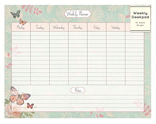 Mothers Day Gifts for Under £30 weekly planner