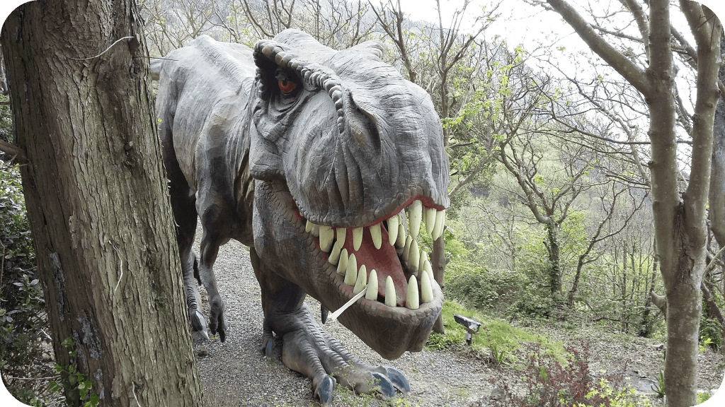 11 Reasons To Visit Blackgang Chine T Rex