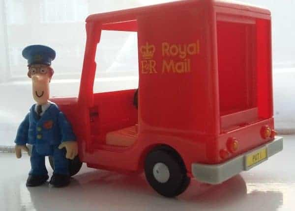 Postman Pat incompetent