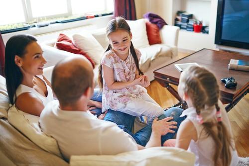 make the family home look more spacious