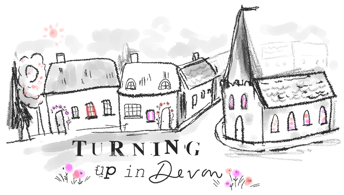 Blog Love - Turning Up In Devon
