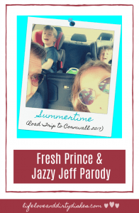 A parody of Fresh Prince and Jazzy Jeff Summertime for any parent that has ever survived a road trip with kids