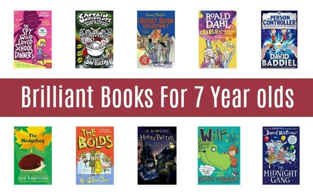 Brilliant books for 7 year olds