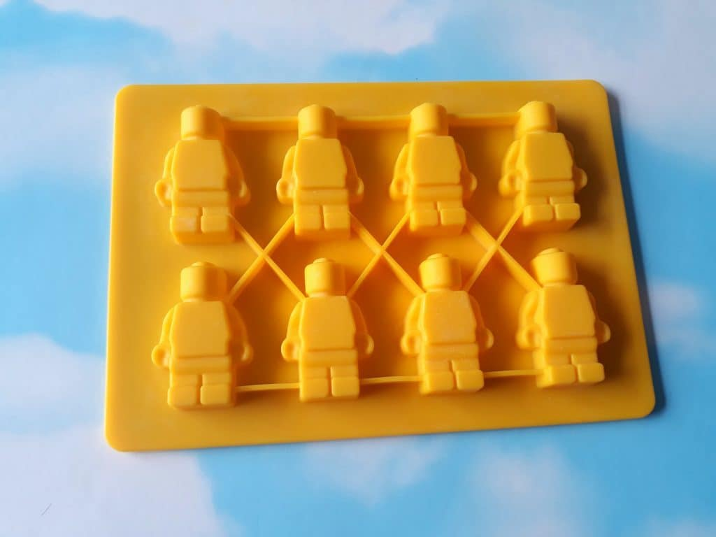 Chocolate Lego men moulds from ebay for around £4