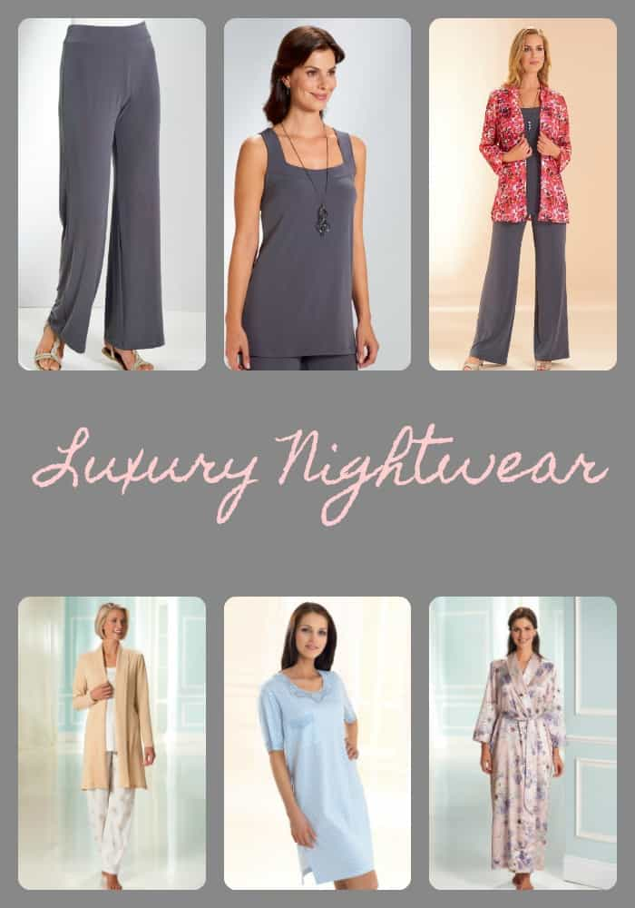 luxury nightwear
