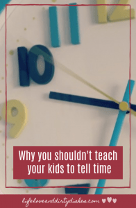 Why you shouldn't teach your kids to tell time #humour #parenting