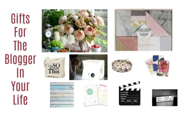 Gifts for the blogger