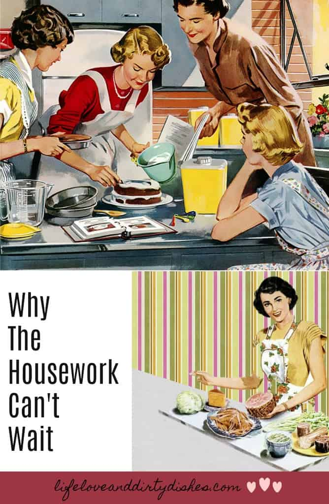 After haveing a baby they tell you the housework can wait. Forget the dishes. Don't tidy. Don't worry about the hoovering. Here's why that advice sucks!