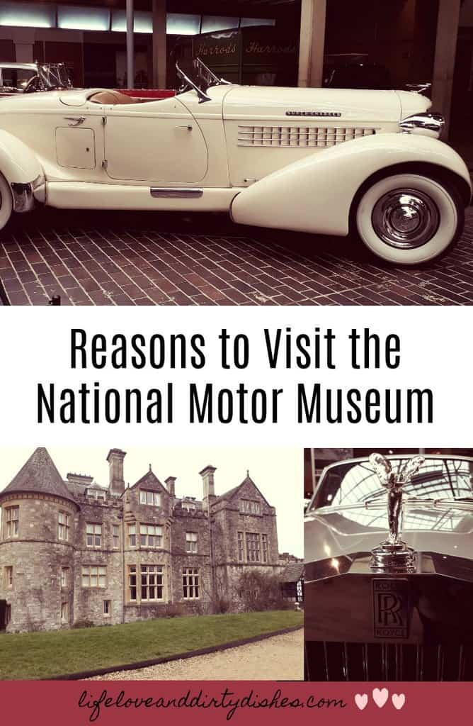 The National Motor Museum in Beaulieu is a great family day out. Set in the beautiful New Forest, it's way more than cars, with a stately home and monorail there are so many reasons to visit.