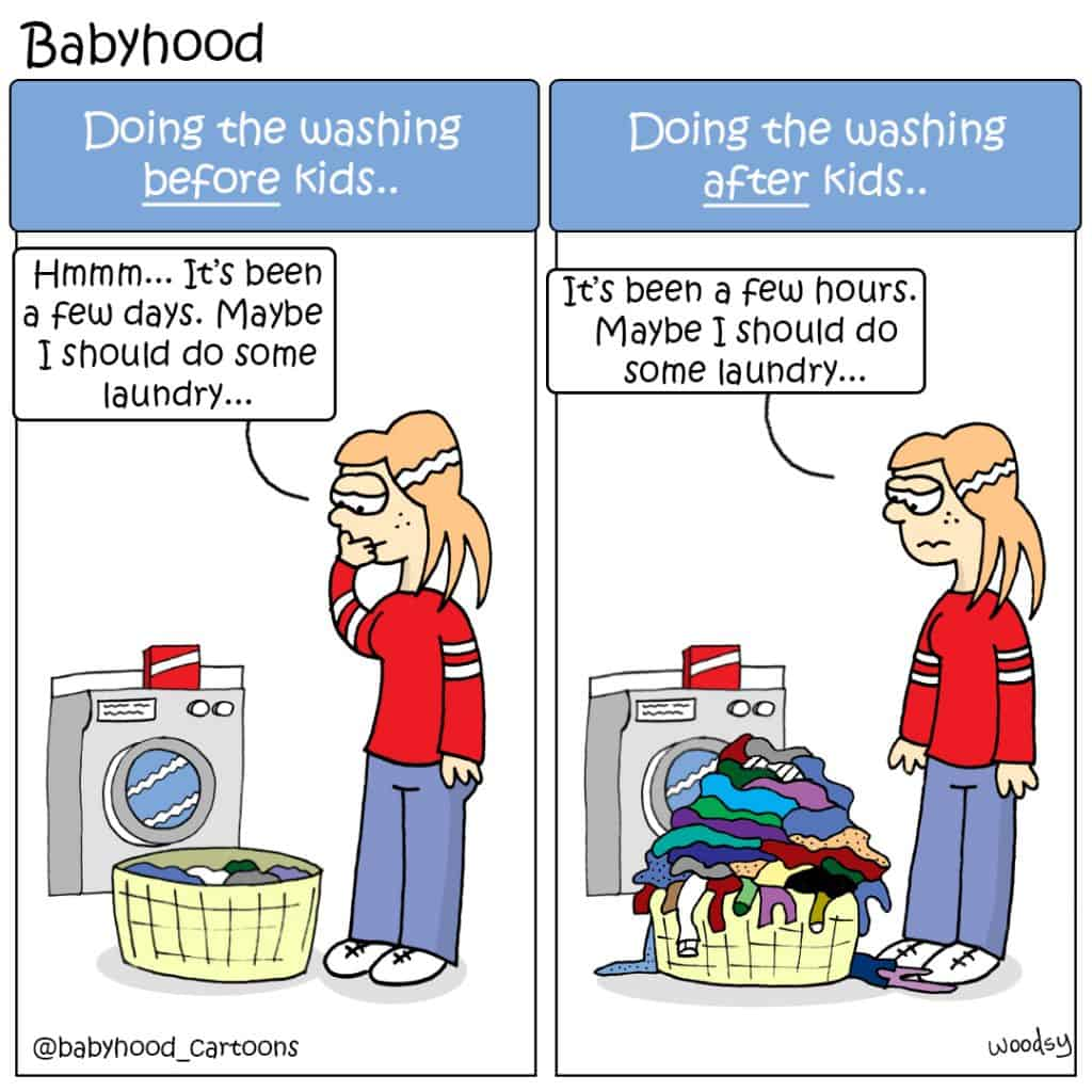 take care of a baby