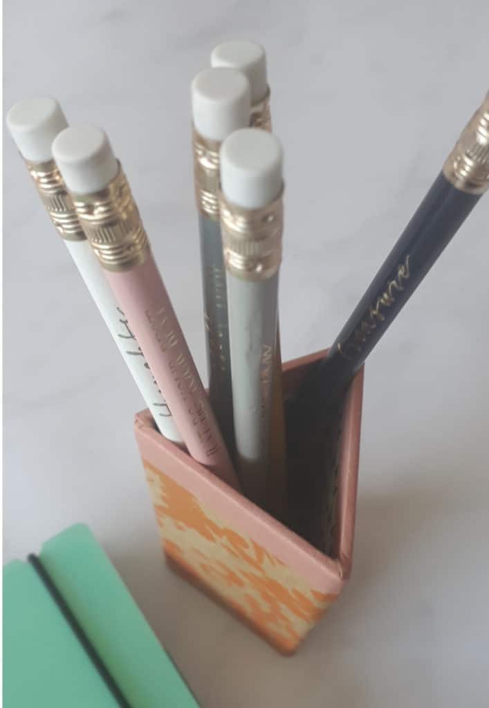 five under £5 pencils from Wilko
