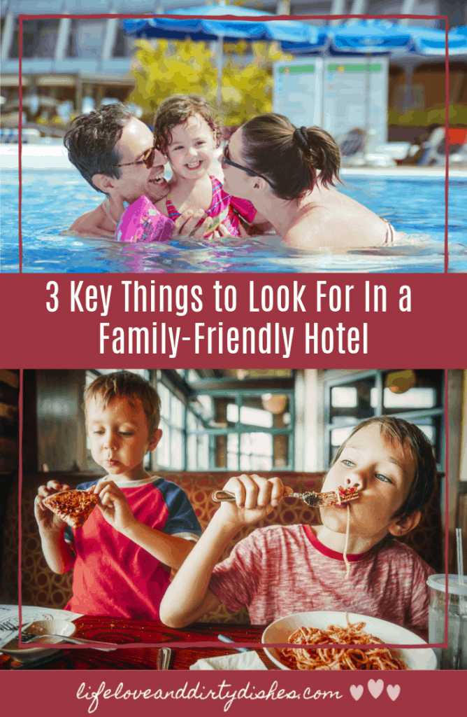 How to have a happy holiday with the kids?  It's all about family friendly accommodation.  Check out these 3 things to look for in a family-friendly hotel.  To make your job as a parent that bit easier!
