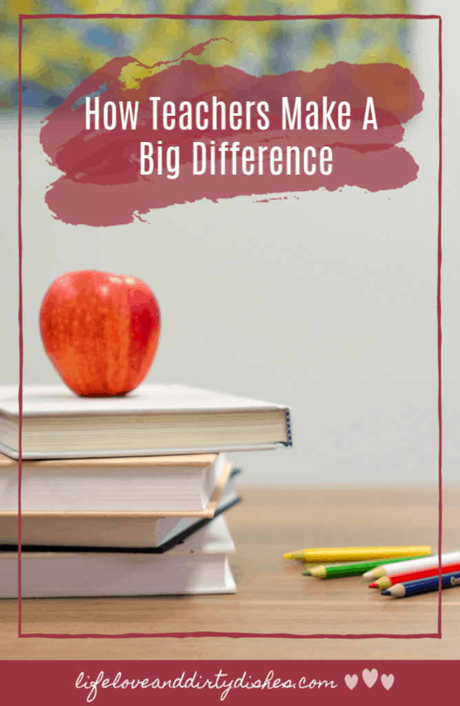 The little things that teachers do make a big difference to our children and us as parents.  Teachers make a difference to our child's enjoyment of school, feeling safe and their education.  This post is all about the amazing this teachers do.