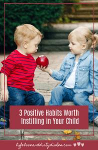 positive habits for children