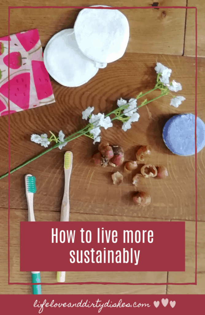 There are so many steps we can be taking at home to live a more sustainable life.  Simple things to reduce our consumption of single use plastic and be more environmentally friendly.