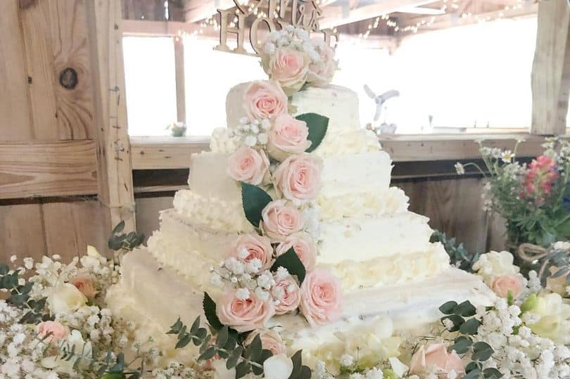 Miraculous Costco Wedding Cakes On A Budget Life Love And Dirty Dishes Personalised Birthday Cards Arneslily Jamesorg