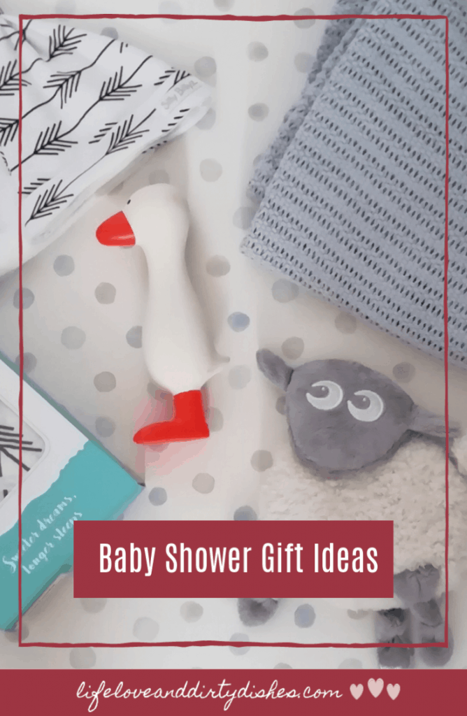 A selection of baby shower gift ideas perfect for newborns #babies #giftguide
