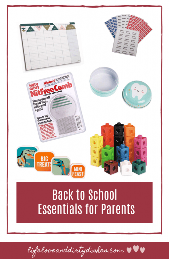 back to school essentials for parents to help you organise your life and have the kit you need when you have children in school.