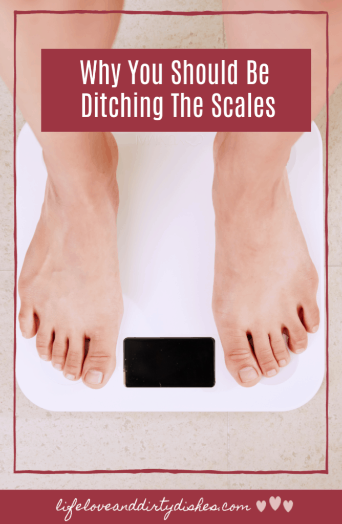 Ditching the scales can help you learn to love your body, and free you from restrictions and diets.  If you want to be body confident, check out this post.