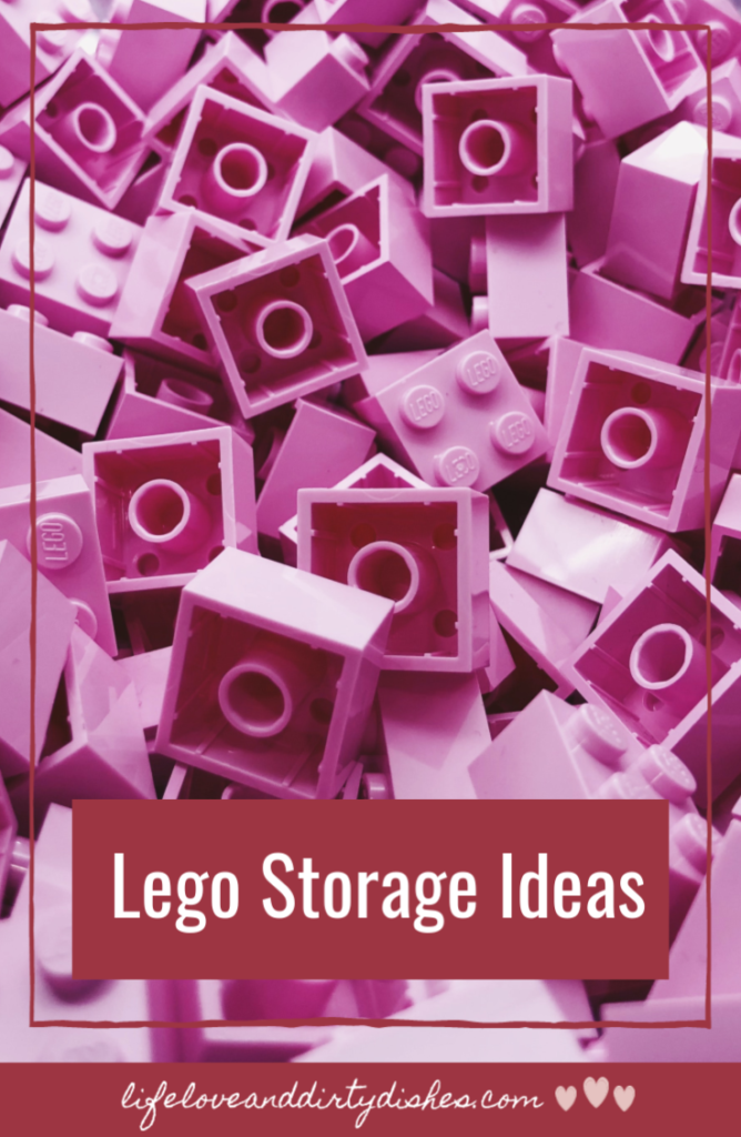 Lego storage ideas for playing, tidying and organising.