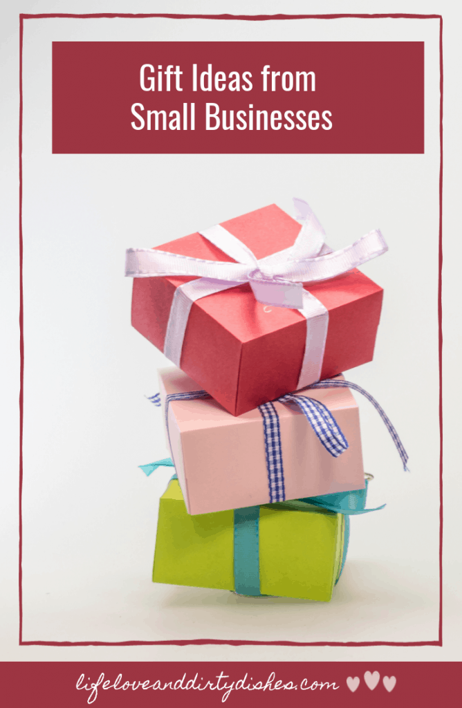 Christmas gift ideas from small businesses