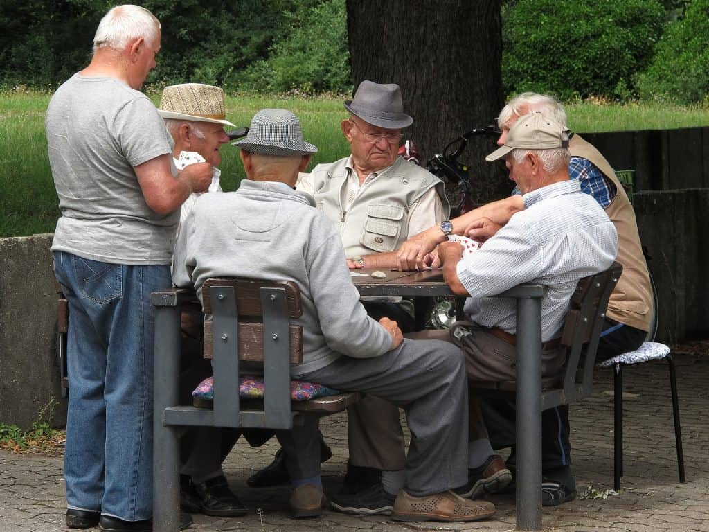 great card games for the elderly