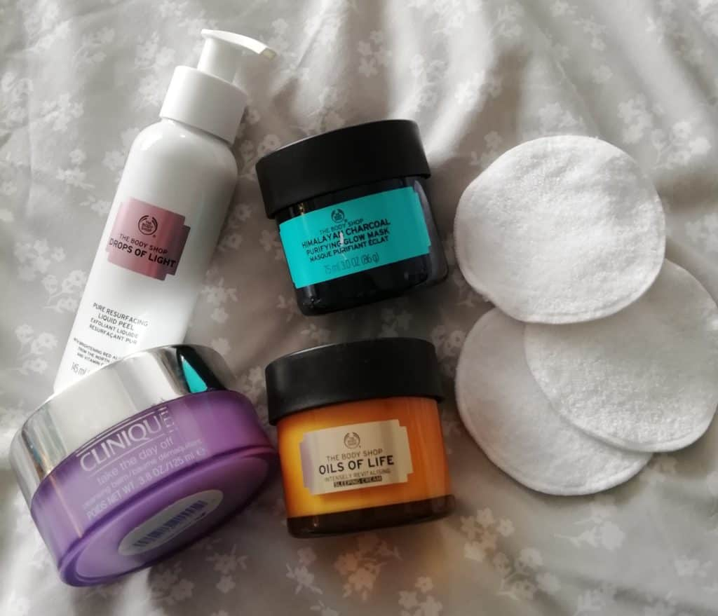 night time skin care routine products