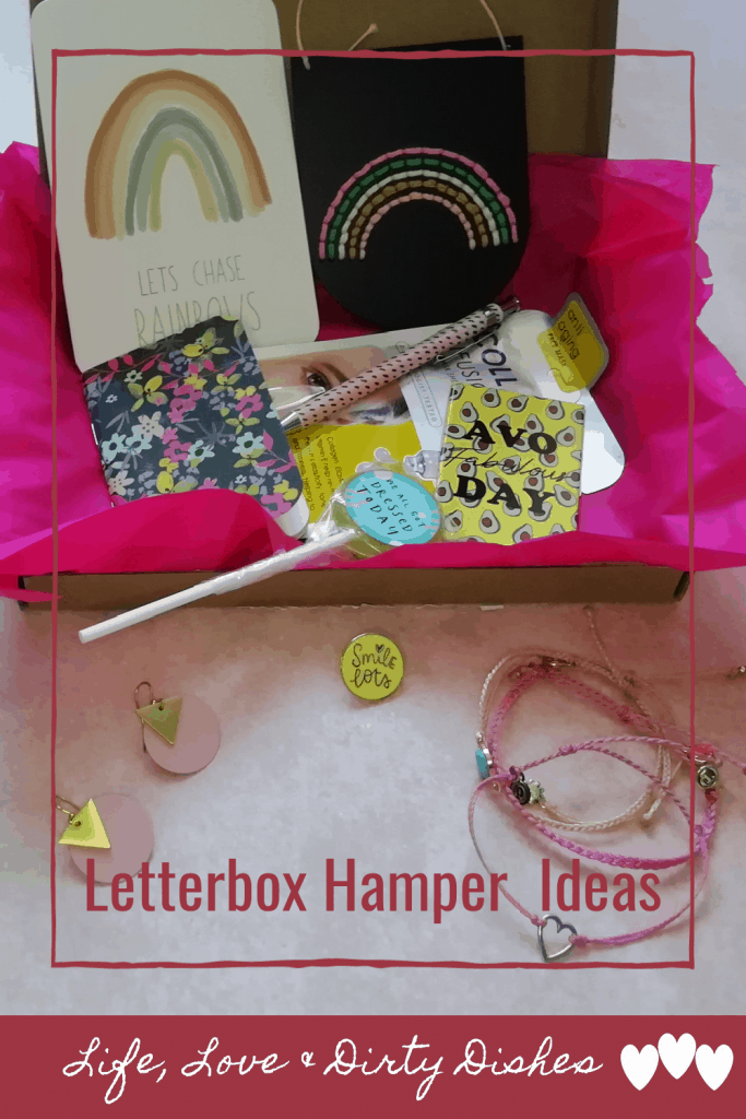 Letter box hamper gift ideas make thoughtful and personal gifts to suit any budget.  Check out these ideas for what to put in yours.